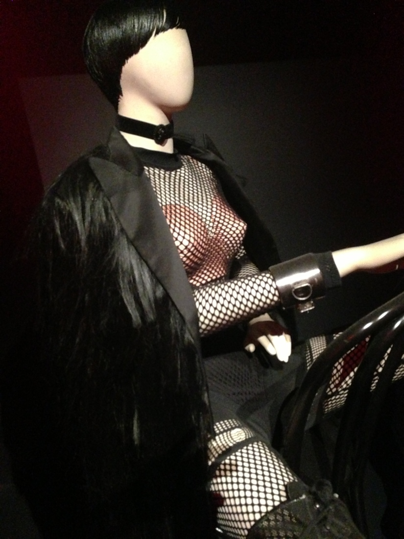 From 'The Fashion World of Jean Paul Gaultier: From the Sidewalk to the Catwalk', at The National Gallery of Victoria. Photo by Evelyn Tsitas